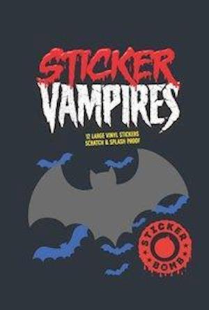 Sticker Vampires af Srk
