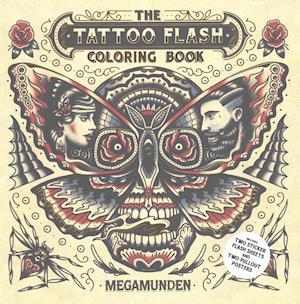 Bog, paperback Tattoo Flash Coloring Book af Megamunden