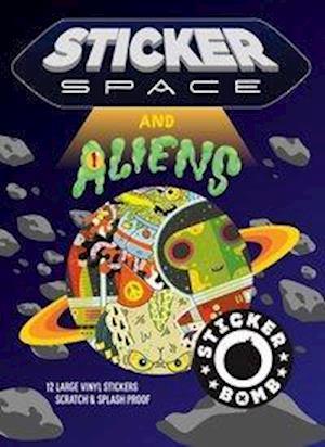 Bog, paperback Sticker Space & Aliens af Srk