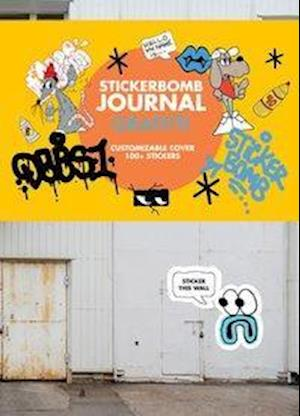 Stickerbomb Graffiti Journal af Srk