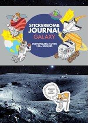 Bog, paperback Galaxy Stickerbomb Journal af Srk