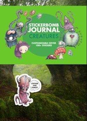 Stickerbomb Creatures Journal af Srk