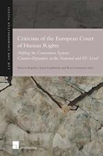 Criticism of the European Court of Human Rights (Law and Cosmopolitan Values, nr. 9)