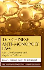 The Chinese Anti-Monopoly Law af Faure, Michael