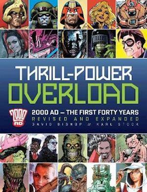 Bog, hardback Thrill Power-overload af David Bishop