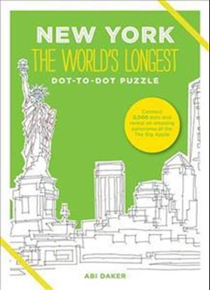 New York the World's Longest Dot-to-Dot Puzzle af Abi Daker