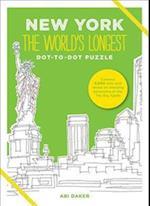 New York the World's Longest Dot-to-Dot Puzzle af Abi Daker