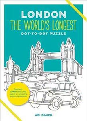 London the World's Longest Dot-to-Dot Puzzle af Abi Daker