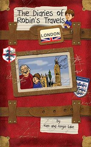 Bog, paperback The Diaries of Robin's Travels: London af Ken Lake