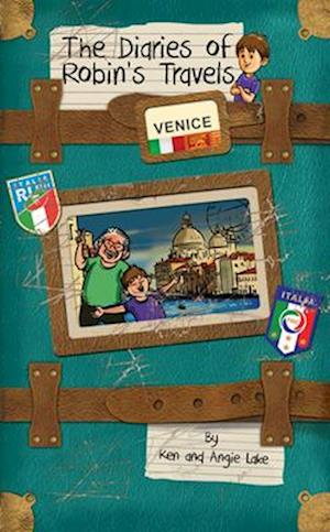 Bog, paperback The Diaries of Robin's Travels: Venice