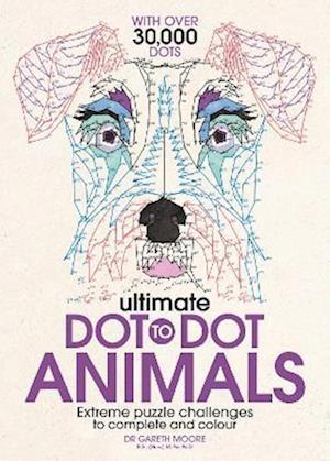 Bog, paperback Ultimate Dot to Dot Animals af Gareth Moore