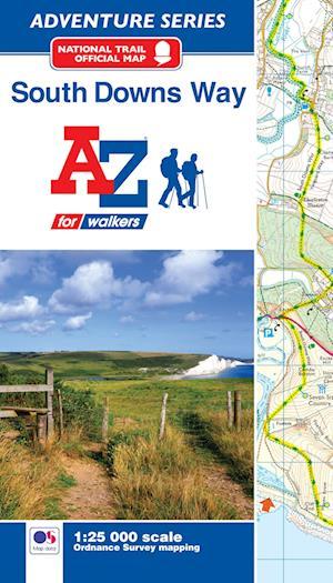 Bog, paperback South Downs Way Adventure Atlas