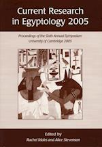 Current Research in Egyptology 2005 af Rachel Mairs