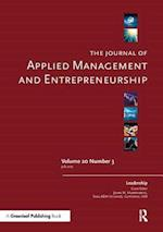 The Journal of Applied Management and Entrepreneurship