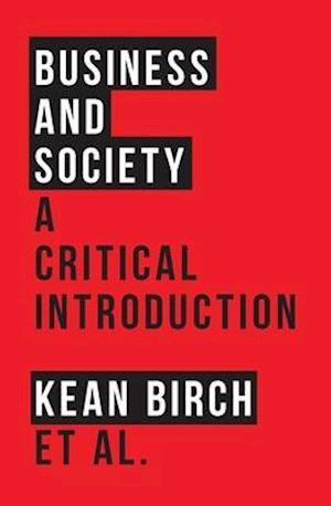 Bog, paperback Business and Society: A Critical Introduction af Richard Wellen