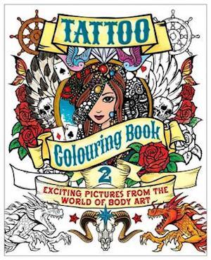 Tattoo Colouring Book 2 af Arcturus Publishing