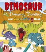 Dinosaur Drawing, Doodling and Coloring Book