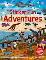 Sticker Fun Adventures (Sticker Fun Books)