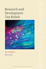Research and Development Tax Reliefs