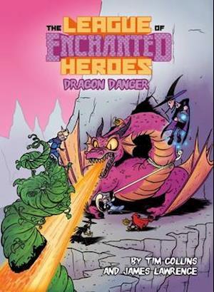Bog, paperback Dragon Danger af Tim Collins