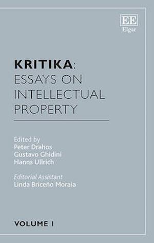 Kritika: Essays on Intellectual Property af Professor Peter Drahos