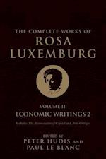 The Complete Works of Rosa Luxemburg (The Complete Works of Rosa Luxemburg, nr. 2)