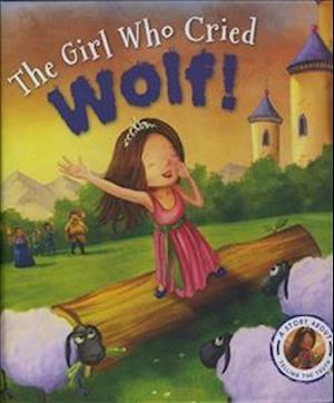 Bog, hardback Fairytales Gone Wrong: The Girl Who Cried Wolf af Steve Smallman