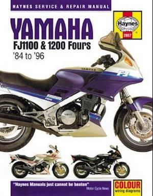 Yamaha FJ1100 & 1200 Fours Motorcycle Repair Manual af Anon