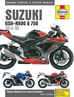 Suzuki GSX-R600 & 750 Motorcycle Repair Manual af Anon