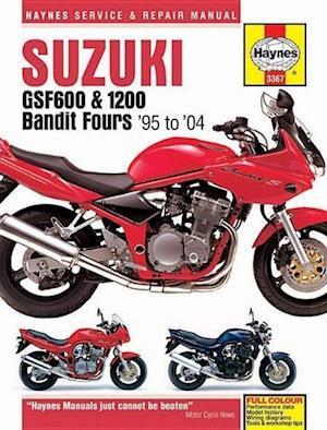 Suzuki GSF600, 650 & 1200 Bandit Fours Motorcycle Repair Manual af Anon