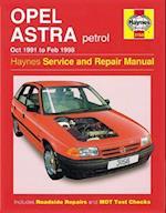 Opel Astra Petrol Owners Workshop Manual