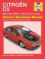 Citroen C5 Owners Workshop Manual af Anon