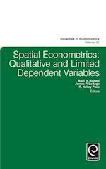 Spatial Econometrics (ADVANCES IN ECONOMETRICS, nr. 37)