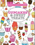 Gorgeous Colouring for Girls - Cupcakes & Sweet Treats (Gorgeous Colouring Books for Girls, nr. 9)