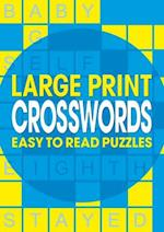Large Print Crosswords (A4 Puzzles)
