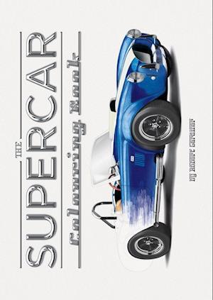 Bog, paperback The Supercar Colouring Book af Rob Gardiner