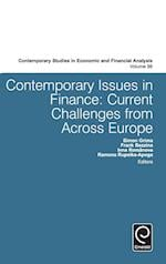 Contemporary Issues in Finance (CONTEMPORARY STUDIES IN ECONOMIC AND FINANCIAL ANALYSIS, nr. 98)