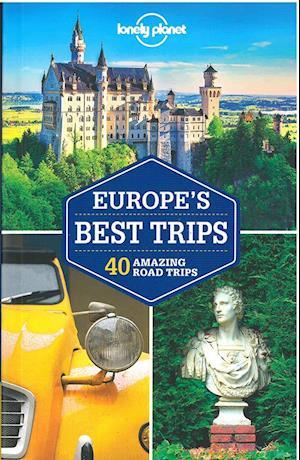 Bog, paperback Lonely Planet Europe's Best Trips af Lonely Planet