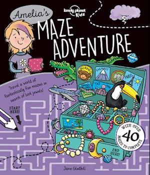 Bog, paperback Lonely Planet Amelia's Maze Adventure af Lonely Planet