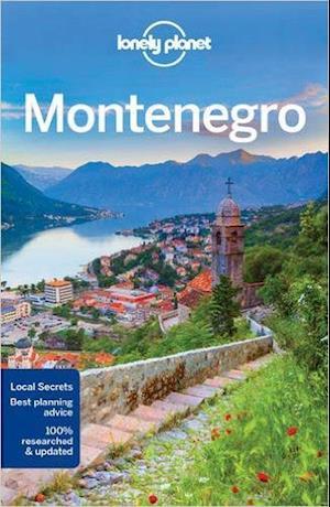 Bog, paperback Lonely Planet Montenegro af Lonely Planet