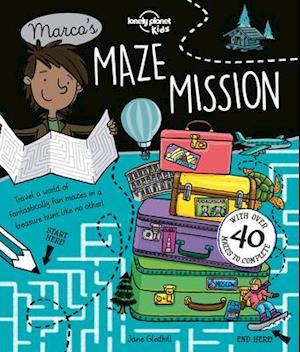 Bog, paperback Lonely Planet Marco's Maze Mission af Lonely Planet