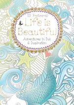Life Is Beautiful Postcard Book (Hobbies and Craft)