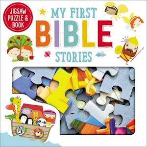 Bog, hardback Jigsaw Puzzle and Book My First Bible Stories Set af Thomas Nelson