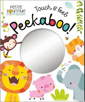 Bog, ukendt format Petite Boutique Wild Animals Peekaboo af Thomas Nelson