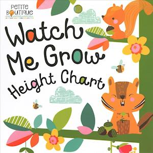 Bog, hardback Petite Boutique Watch Me Grow Height Chart af Thomas Nelson