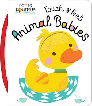 Bog, ukendt format Petite Boutique Touch and Feel Baby Animals af Thomas Nelson