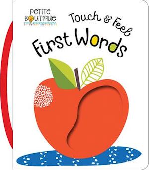 Bog, ukendt format Petite Boutique Touch and Feel First Words af Thomas Nelson