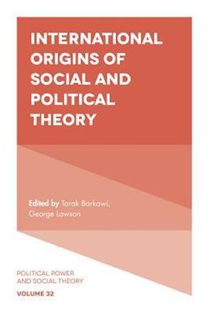 Bog, hardback International Origins of Social and Political Theory