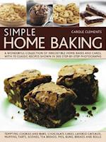 Simple Home Baking af Carole Clements