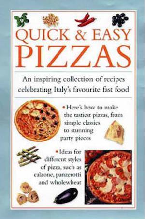 Bog, hardback Quick and Easy Pizzas af Valerie Ferguson